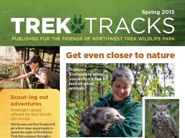 Trek Tracks newsletter spring 2015