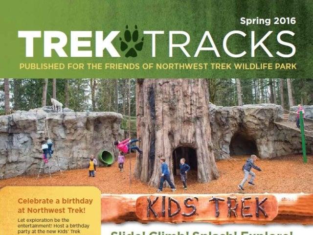 Trek Tracks newsletter spring 2016
