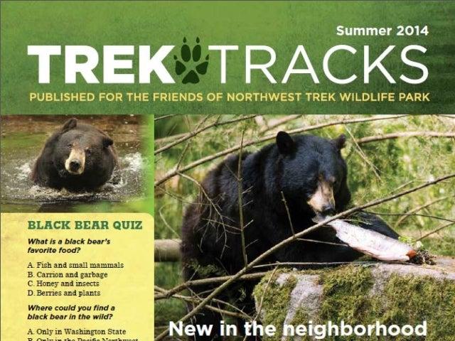 Trek Tracks newsletter summer 2014