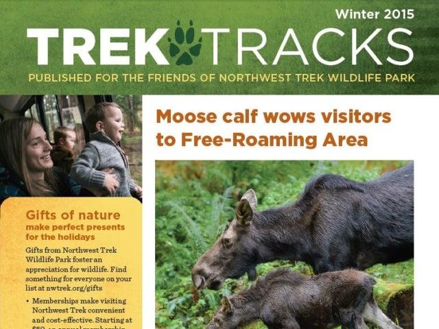 Trek Tracks newsletter winter 2015