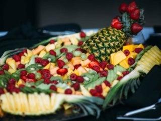 Wedding fruit platter
