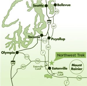 Trek region map