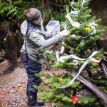 Keeper prepping a tree for Winter Wildland