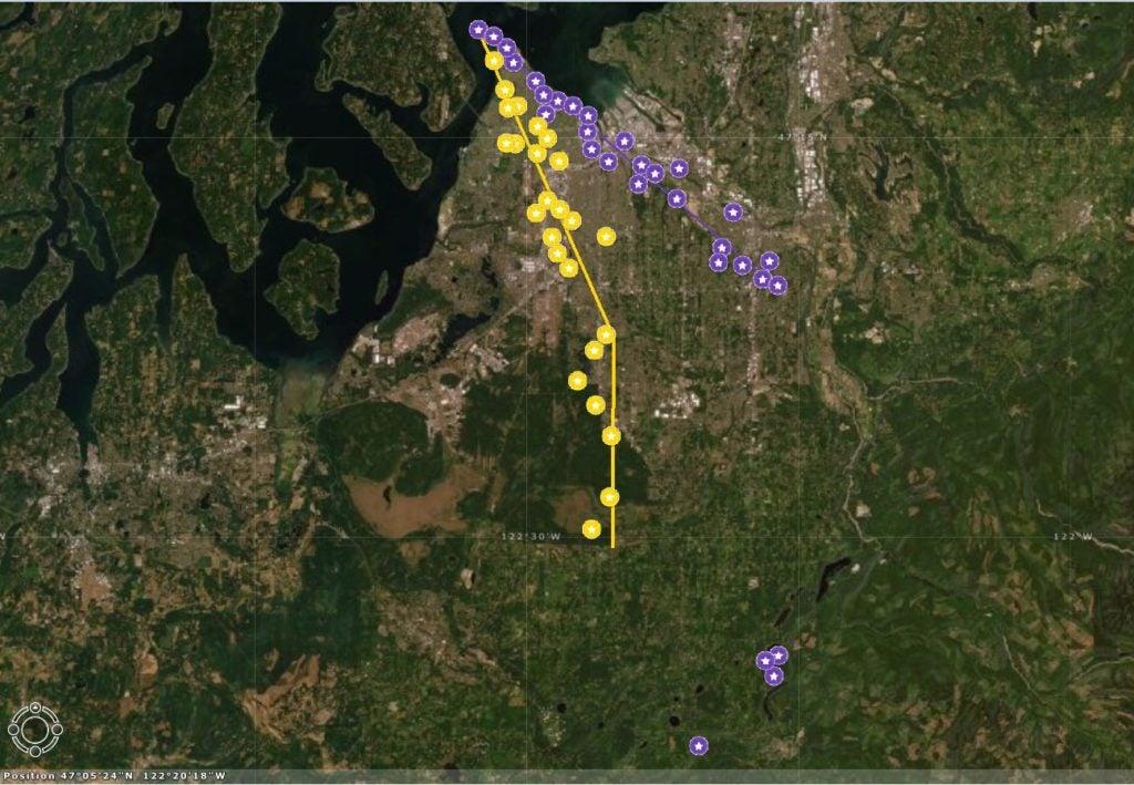 Map - Camera Traps