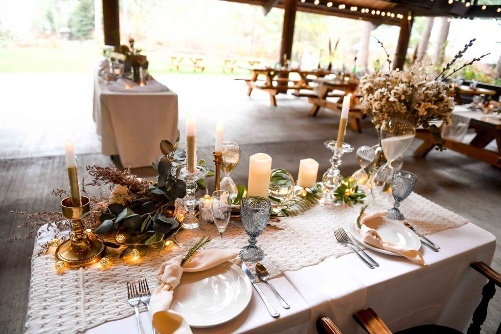wedding table for four