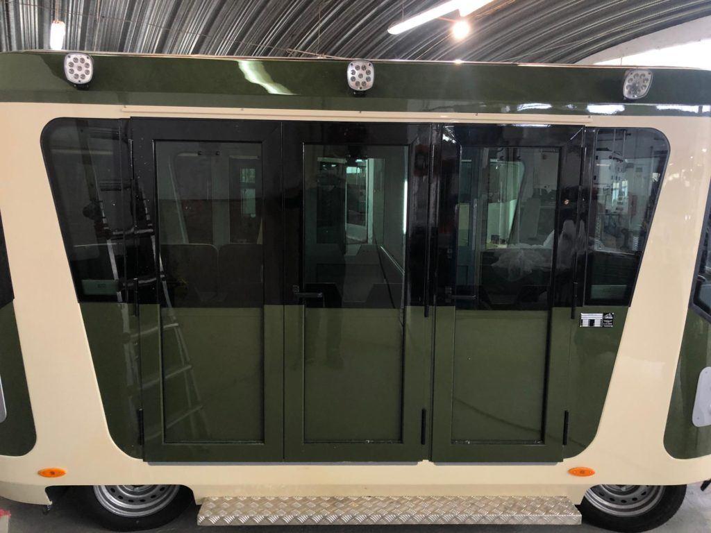 electric tram side